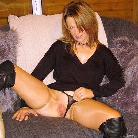 See More of Me Here - Stockings & Boots