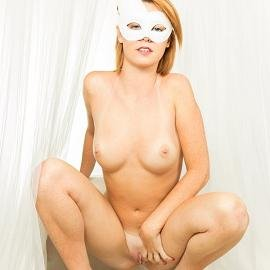 See More of Me Here - Blue Mask
