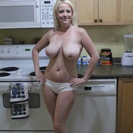 Homemodels - BlondeHottie - Kitchen Antics