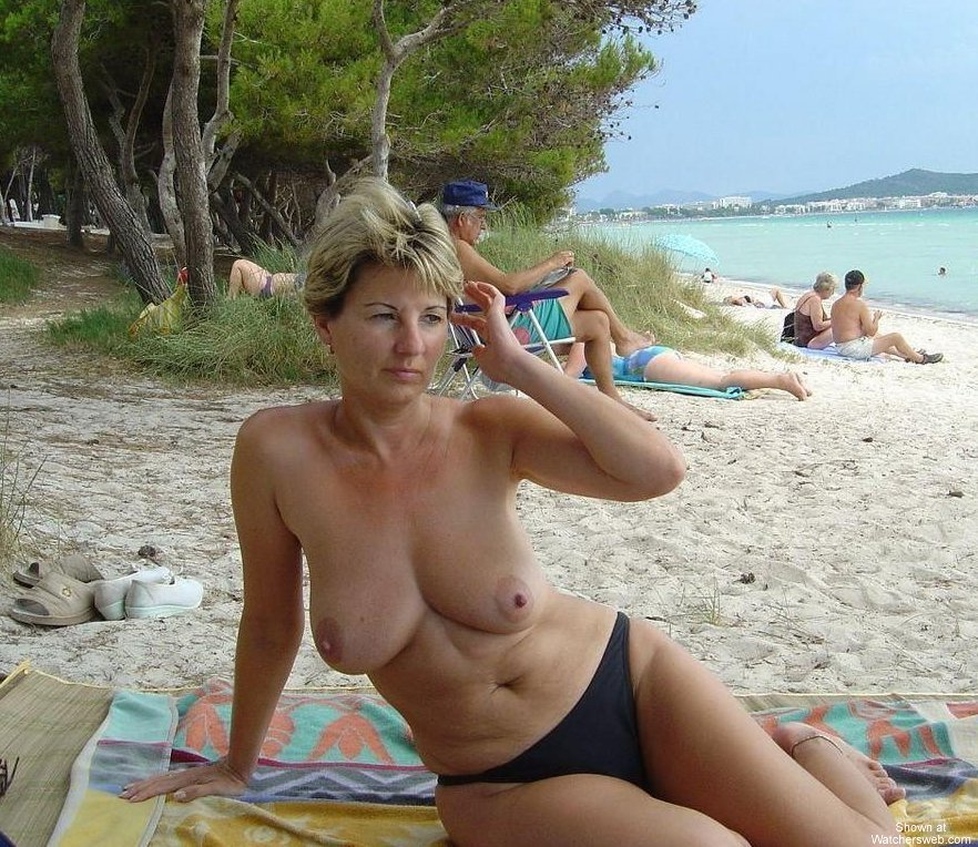 Hot Milf On Vacation #1 #2