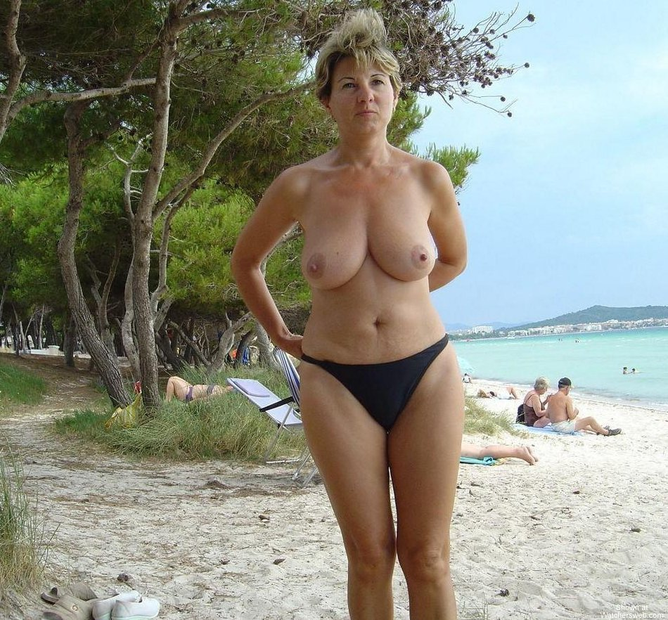 Hot Milf On Vacation #1 #3