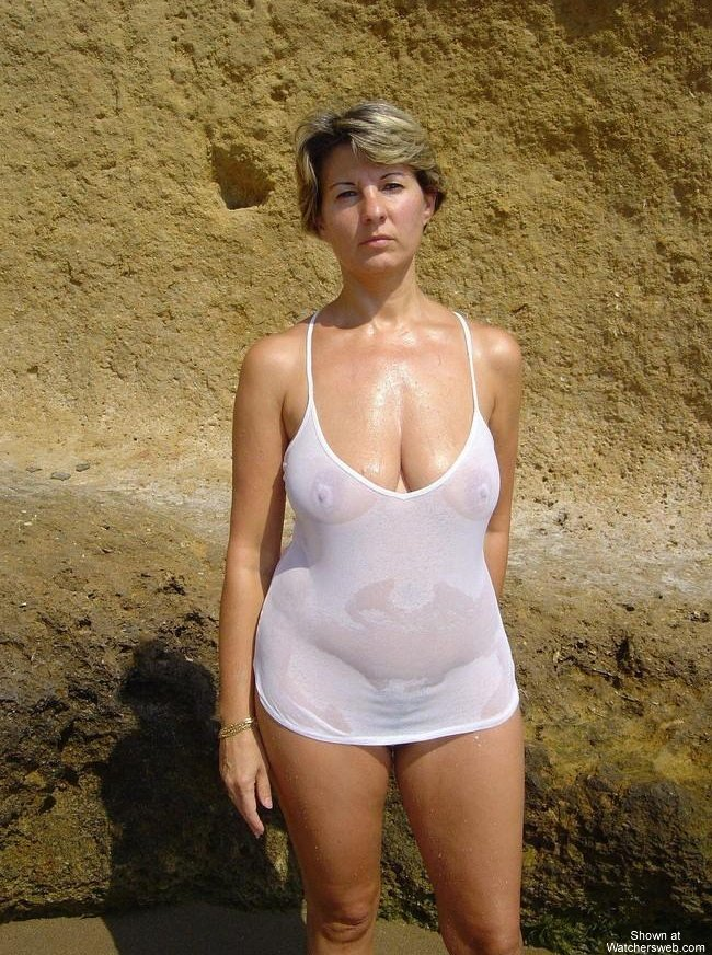 Hot Milf On Vacation #1 #1