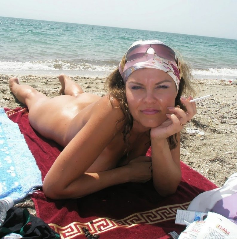Wife naked beach delirium You