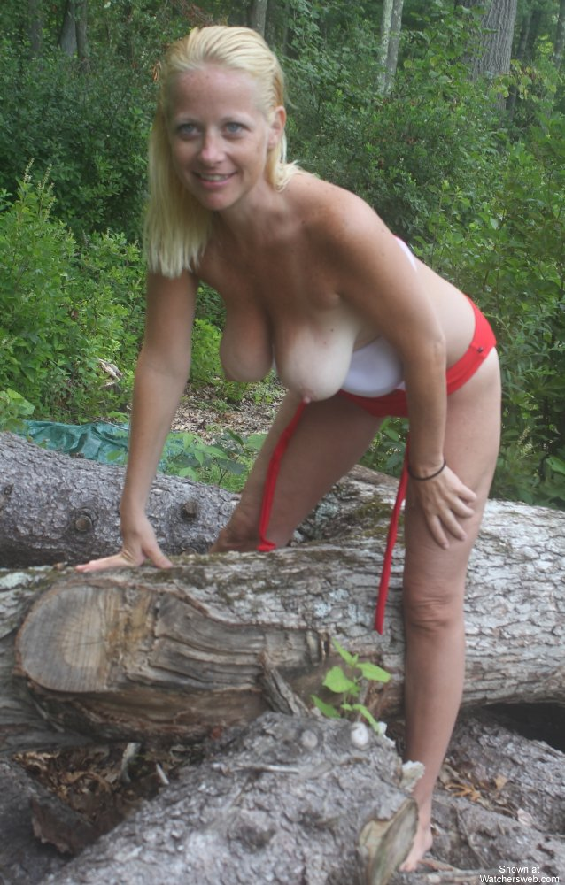 Milf In Woods 76