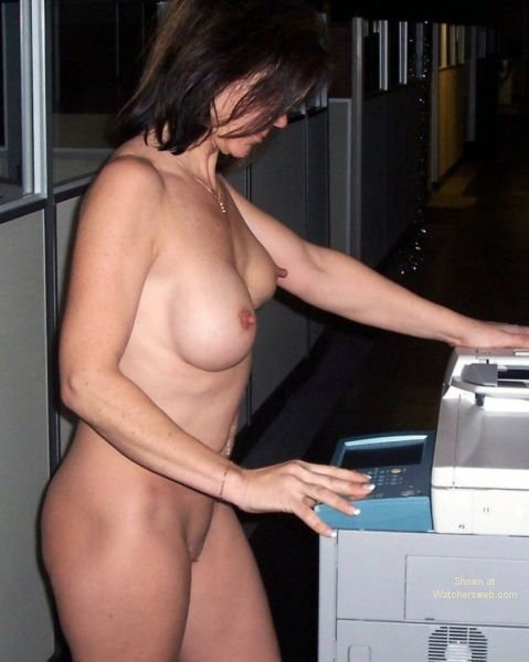 Naked slut at work congratulate, this